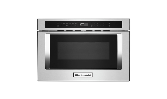 24 under counter microwave oven drawer