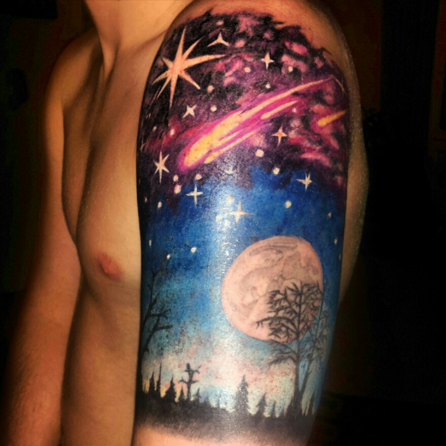 outer space accepted ink