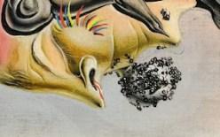 Salvador Dalí. Detall de Retrat de Paul Éluard.