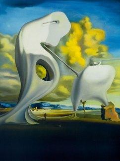 Salvador Dalí. L'Angélus architectonique de Millet, 1933.