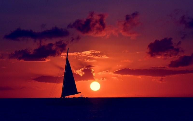 barco horizonte