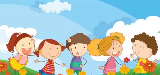 niño sano espontáneo, ruidoso, inquieto, emotivo y colorido