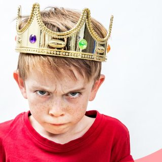 El síndrome del emperador, niños tiranos