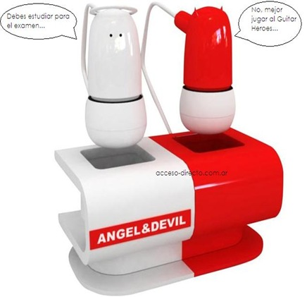 angel-devil earphones