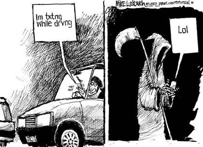 SMS mientras conduces
