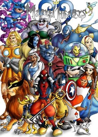 Marvel Hearts