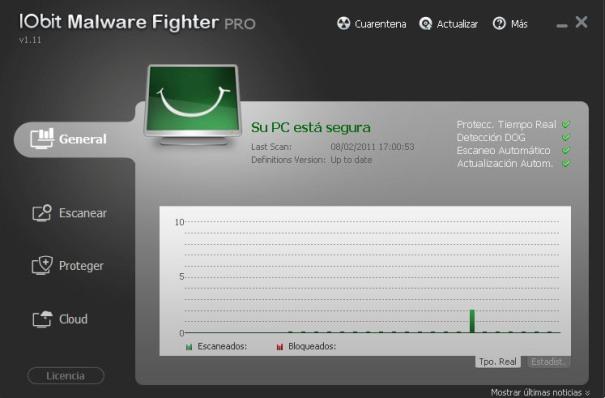 IObit Malware Fighter Screenshot 1
