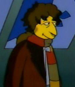 El Cuarto Doctor en Los Simpsons