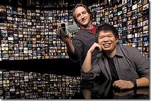 Chad Hurley y Steve Chen