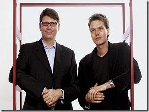 Niklas Zennström y Janus Friis