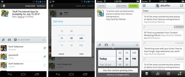 Android iOS custom schedule