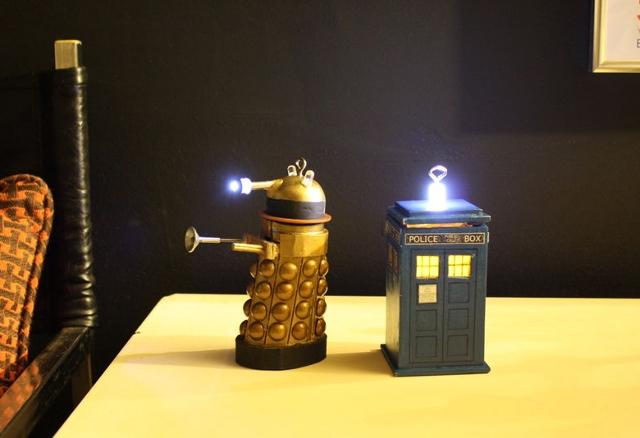 Dalek tardis ornament