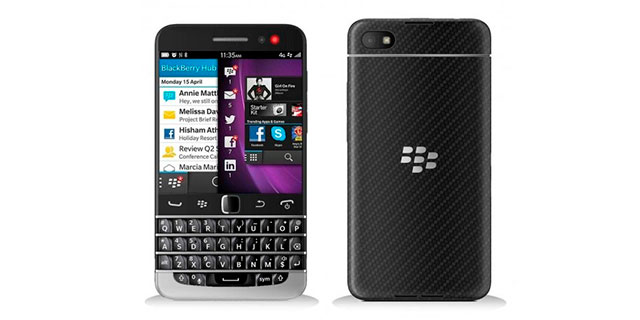 BlackBerry Q20 concepto