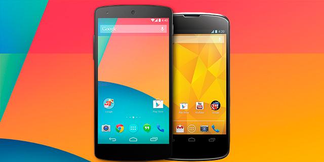 Nexus 5 y Nexus-4
