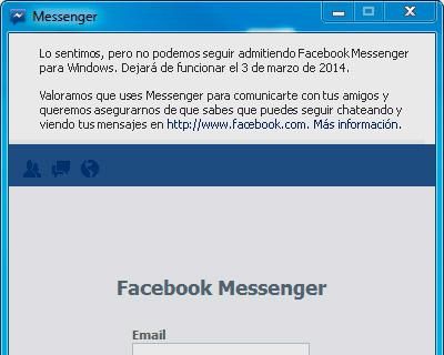 Aviso Facebook
