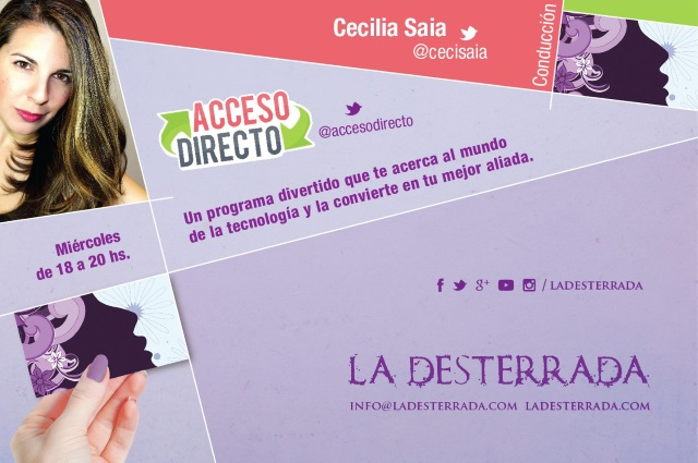 Acceso Directo Radio La Desterrada