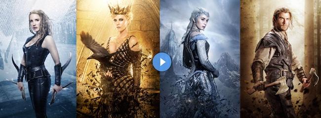 El Cazador y la Reina de Hielo
