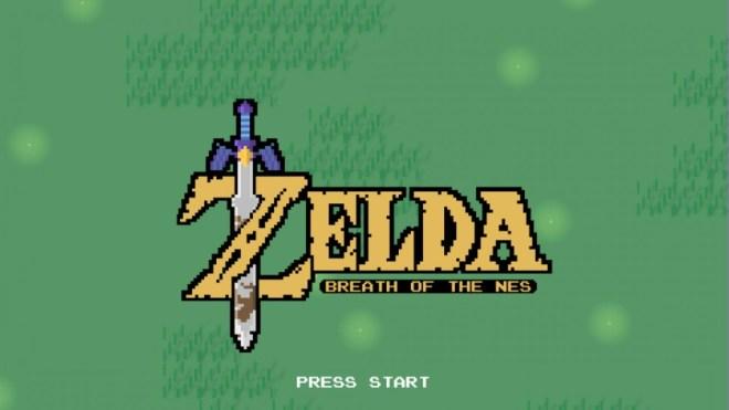 proyecto zelda breath of the NES fue detenido por Nintendo