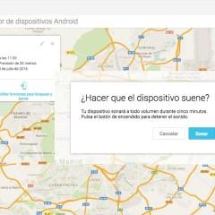 Cómo encontrar tu Android si lo pierdes o te lo roban
