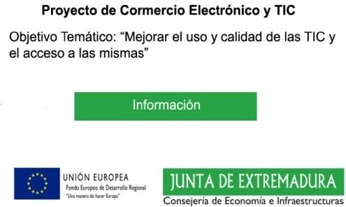 Junta de Extremadura - Fondos Feder