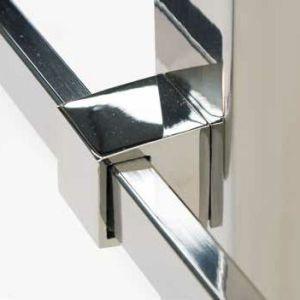 Accesorios para barandillas, barandas, pasamanos, estructuras y escaleras de acero inoxidable