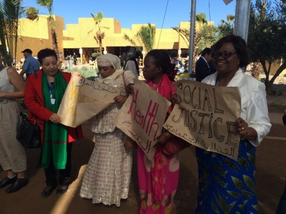 access-cop22-women-advocacy-gender-energy