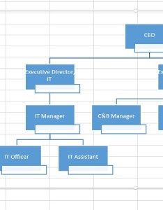 Excel create organization chart also access rh