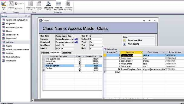 I am trying to set up a simple inventory database which can email the user if the service is due on the equipment or warranty expires. 108 Microsoft Access Databases And Templates With Free Examples Updated September 2021