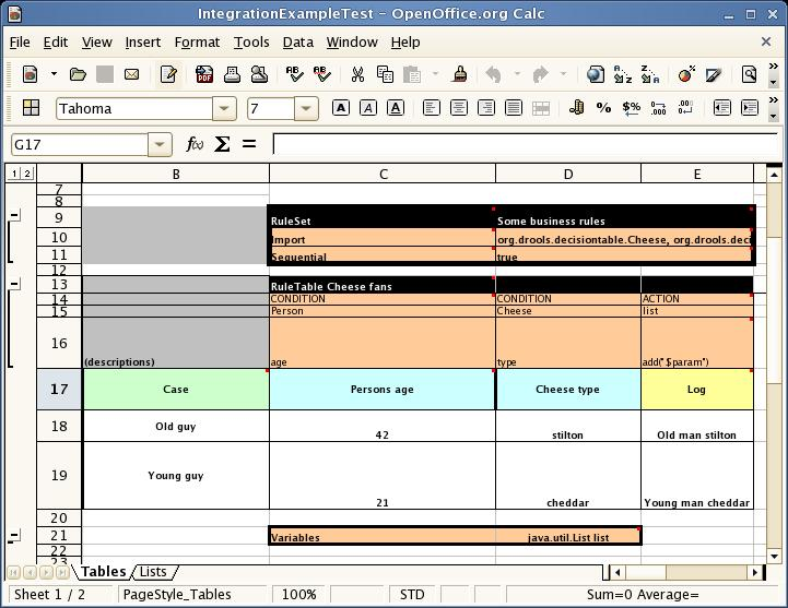 6.5. Using Decision Tables in Spreadsheets - Red Hat Customer Portal
