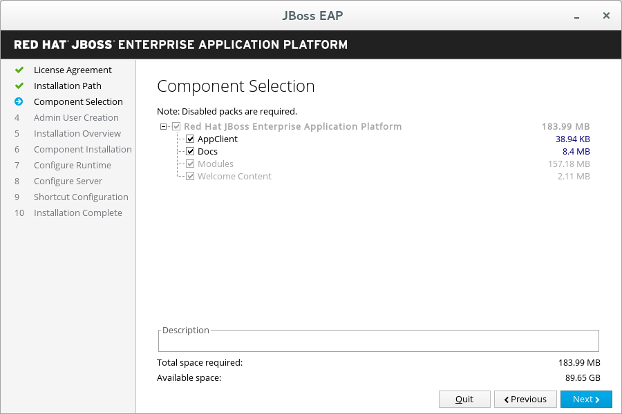 Chapter 3. Installing JBoss EAP Red Hat JBoss Enterprise