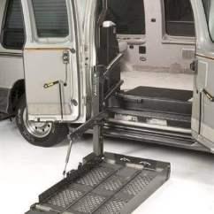Wheelchair Van Parts Bing Bag Chairs Vangater Series Tri Folding Platform For Ambulatory Access 2 Mobility