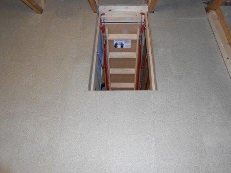 Ladder install