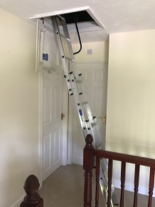 3 SECTION EASY STOW LADDER