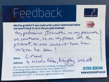 WHAT MY CUSTOMERS SAY
