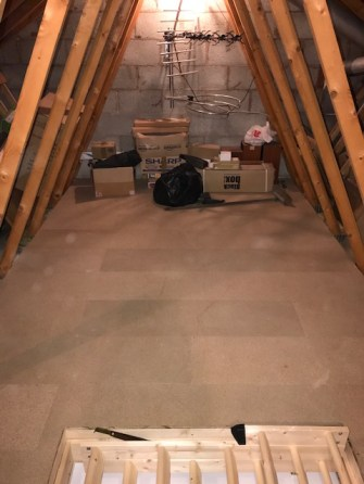 CLEAN AND TIDY STORAGE SPACE