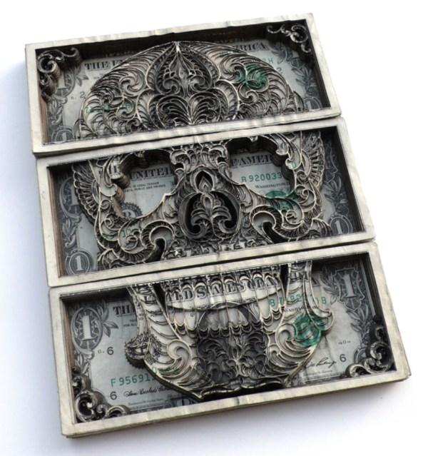 Scott Campbell Money Art