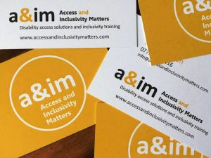 image shows the a&im logo and website address