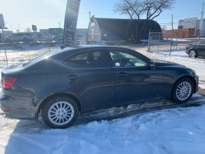 2011 LEXUS IS250 Passenger side