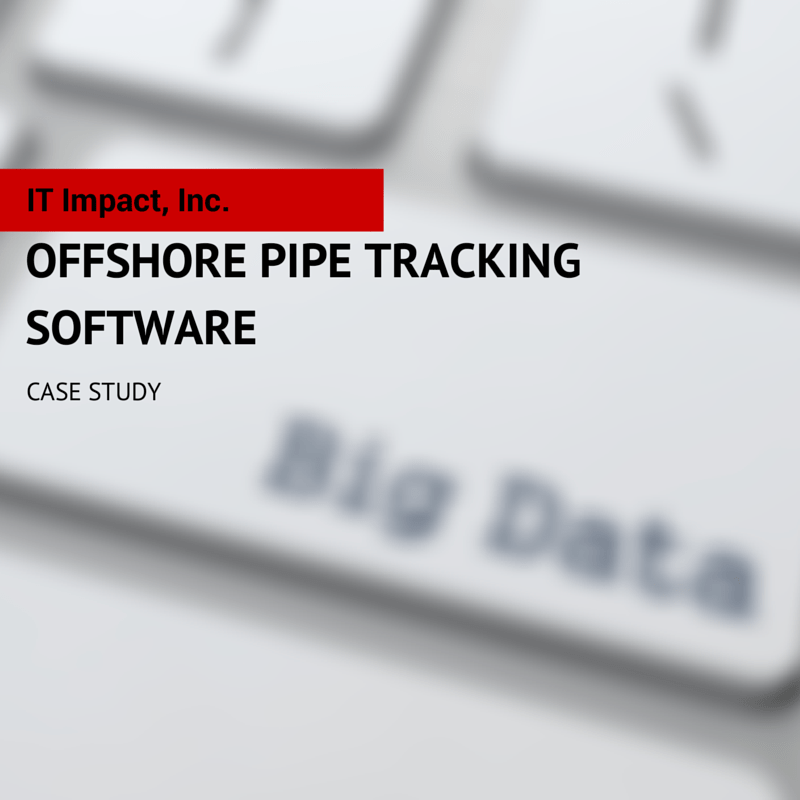 Offshore Pipe Tracking Software