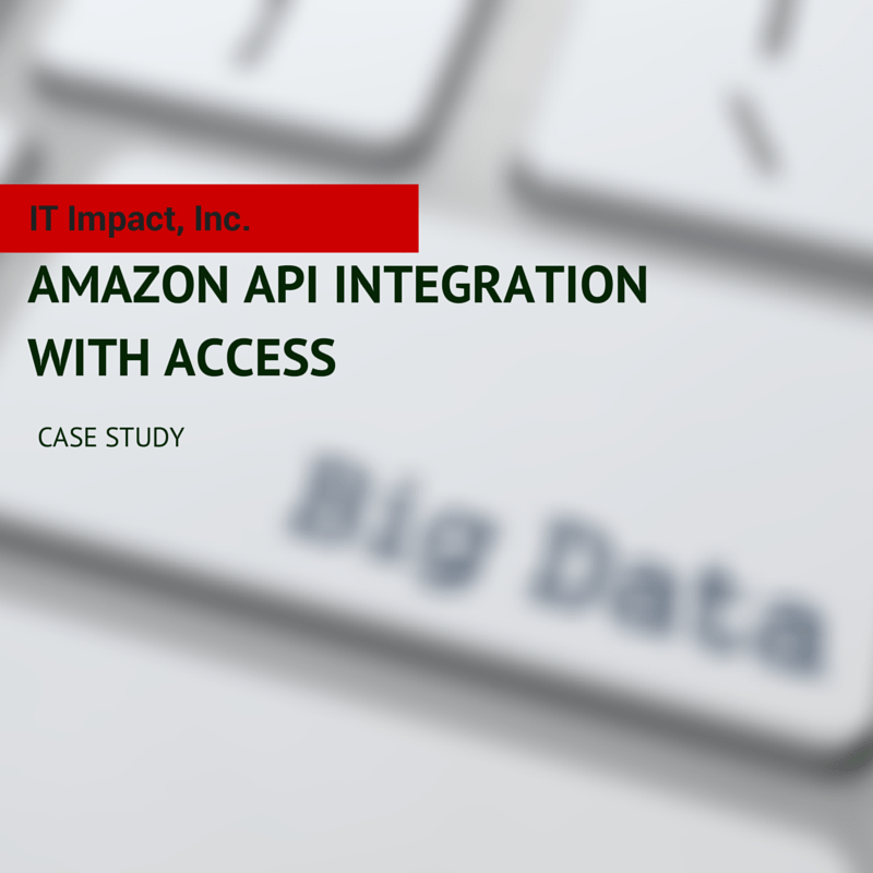 Amazon API Integration with Access