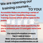 Training Now Open To The Public