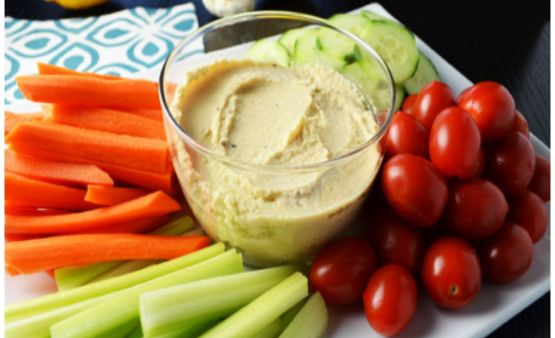 Hummus with Veggies