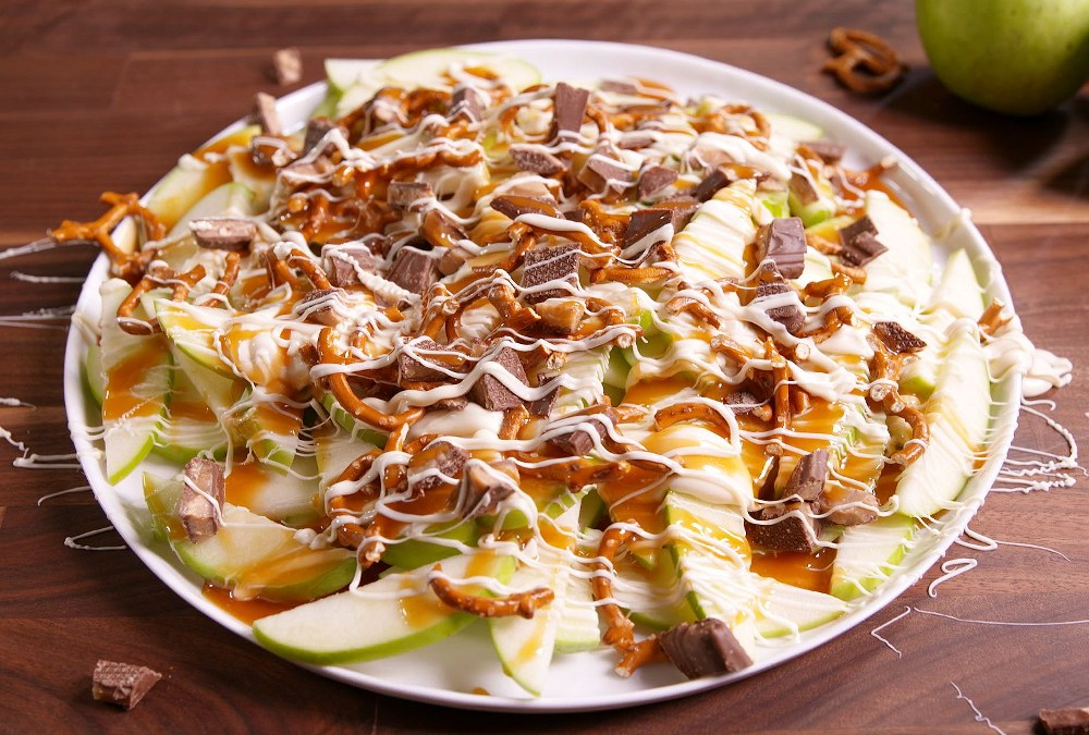`apple nachos