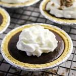 chocolate pudding pies
