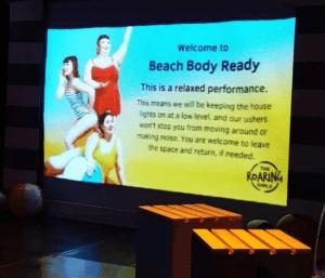Big Screen at The Roaring Girls