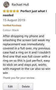 Genuine Amazon Review
