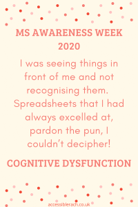 gling with decision making and as a born organiser I was not organising, I was seeing things in front of me and not recognising them.  Spreadsheets that I had always excelled at, pardon the pun