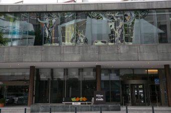 Hilton rotterdam front