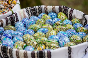 romania painted eggs