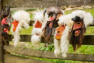 Romania traditional mask